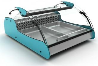 Vitrine réfrigérée mobile à 3 plateaux - Devis sur Techni-Contact.com - 2
