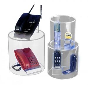 Vitrine tube en plexiglas - Devis sur Techni-Contact.com - 2