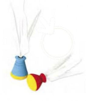 Volants de badminton en plume diamètre 70 mm - Devis sur Techni-Contact.com - 1