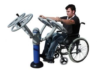 Volant de musculation pour PMR - Devis sur Techni-Contact.com - 2