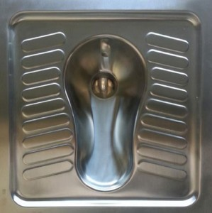 WC à la turque en inox - Devis sur Techni-Contact.com - 1