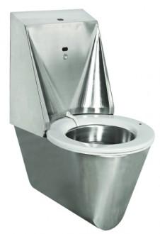 WC automatique hygiénique suspendu inox - Devis sur Techni-Contact.com - 1