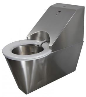 WC automatique hygiénique suspendu inox - Devis sur Techni-Contact.com - 4