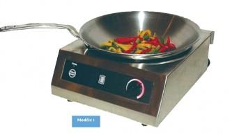 Wok à induction Inox - Devis sur Techni-Contact.com - 1