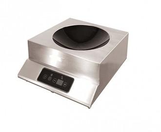 Wok à induction professionnel 3500 W - Devis sur Techni-Contact.com - 1