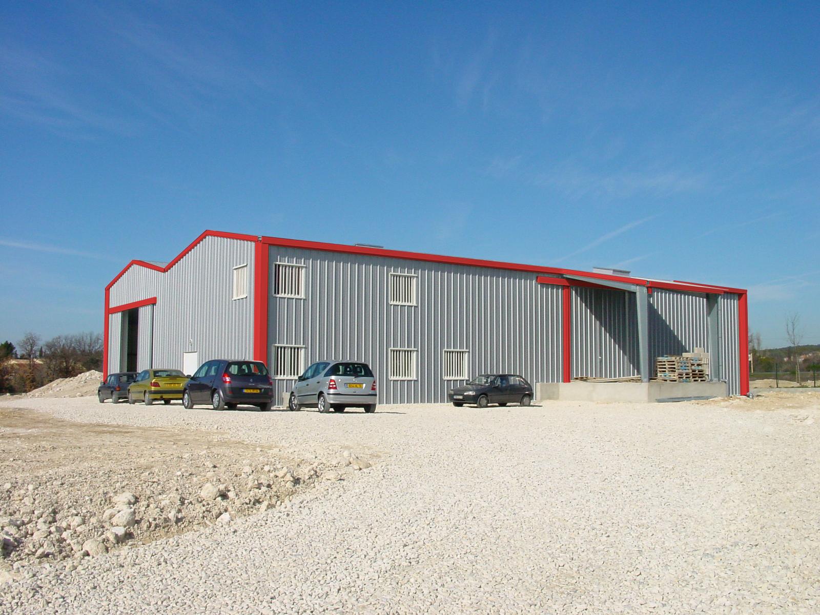 Hangar Metallique A Portee 6 A 20 M Batiment Metallique