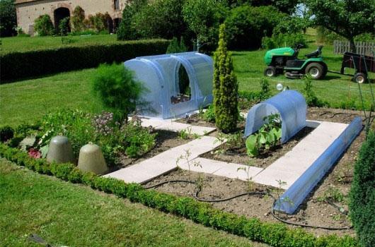 Mini serre jardin - Serre de protection jardin - Techni-Contact