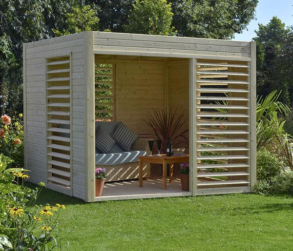 abri de jardin design - abri de jardin design bois - techni-contact