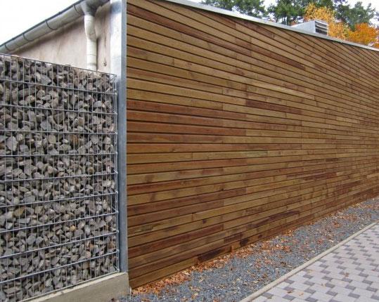 Bardage bois extérieur en pin lames de bardage techni contact