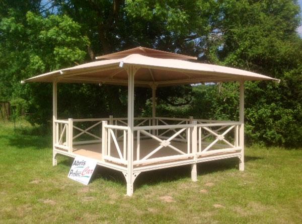 Kiosque de jardin - Abri kiosque en bois - Techni-Contact