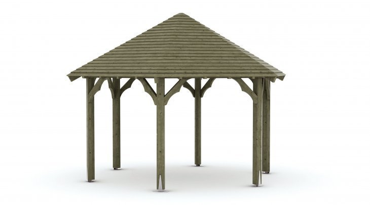 Kiosque de jardin bois - Kiosque en bois - Techni-Contact