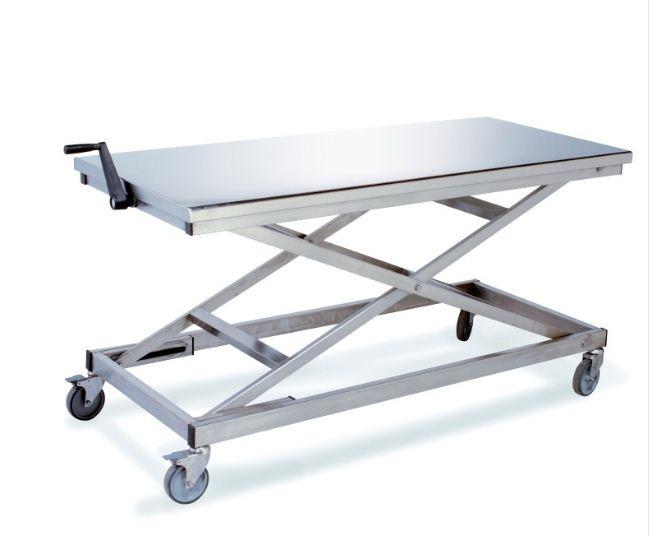 Table Pliante Reglable En Hauteur.Table Pliante Inox A Hauteur Reglable