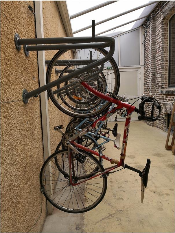 Porte vélo mural - Support vélo mural Velacc - Techni-Contact 1359536ab819