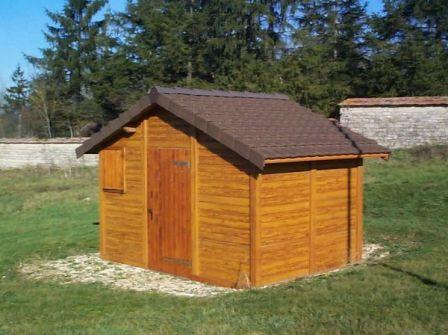 Abri de rangement en béton aspect Bois - Abri jardin béton - Techni ...