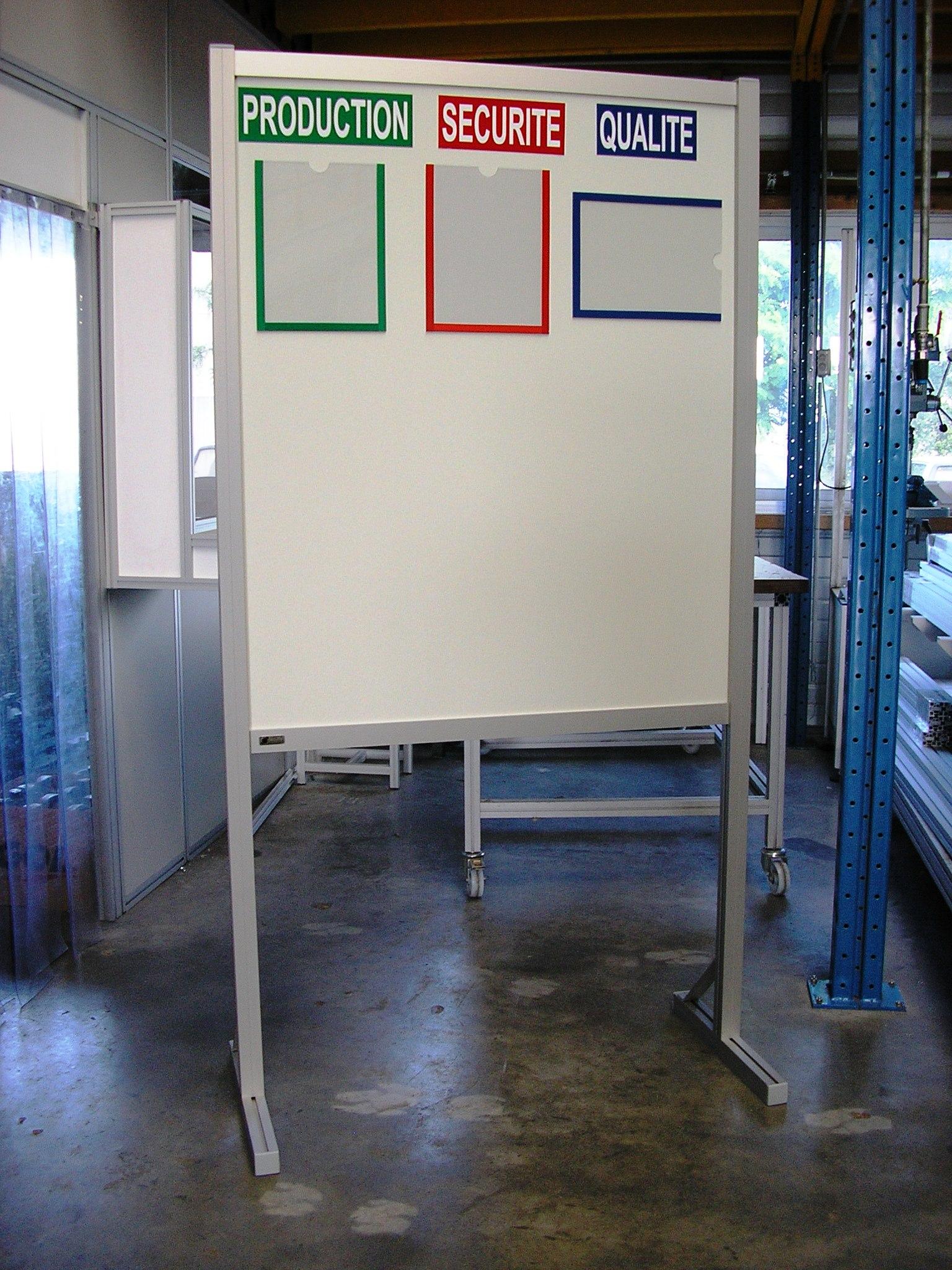 Panneau D Affichage Magnetique Support De Communication