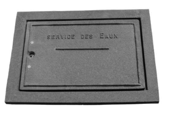 Nouveau Regard pour compteur d'eau - Regard en fonte ductile - Techni-Contact VS-92