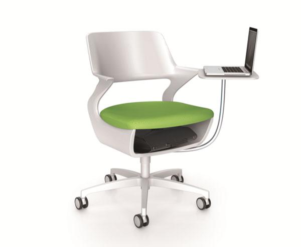 Chaise Avec Tablette écritoire Ecritoire Flexible Techni Contact
