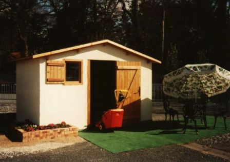Abri de jardin en béton - Cabane de jardin en dur - Techni-Contact