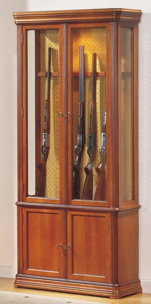 Vitrine D Exposition Fusils En Bois Vitrine De Decoration En Bois