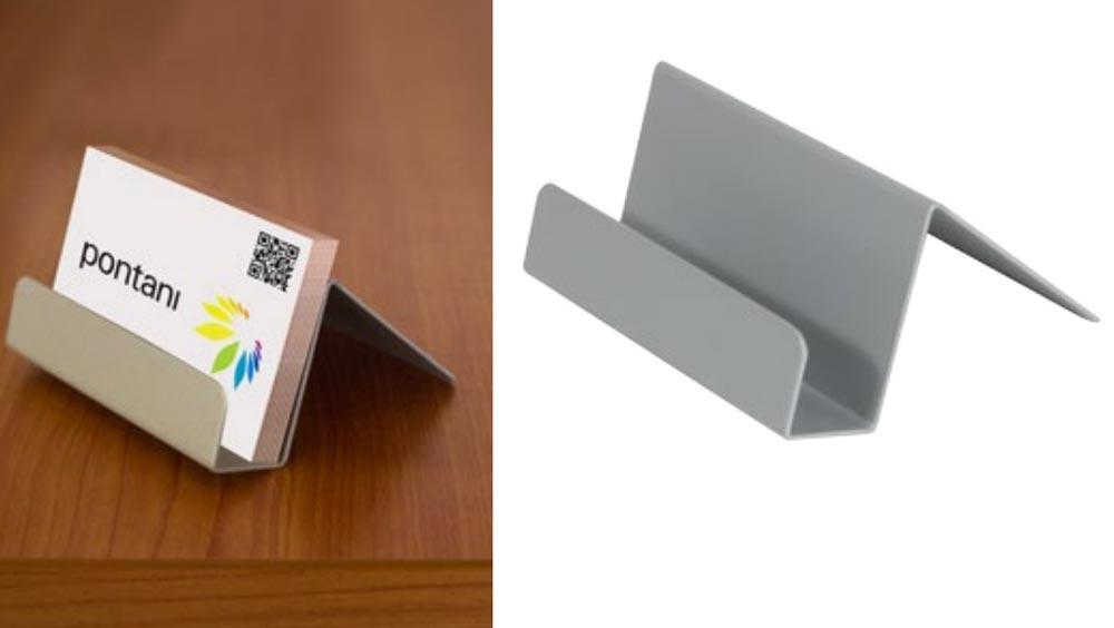 Presentoir Pour Carte Metallique