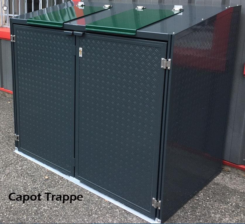 Code fiche produit 1390592 - Cache conteneur poubelle ...