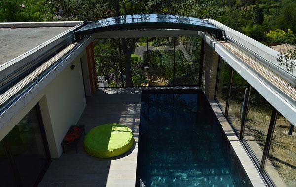 Code fiche produit 1622173 for Chauffage piscine toiture