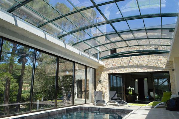 Prix sur demande for Chauffage piscine toiture