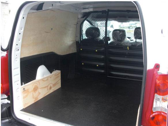 Meilleur de tous Aménagement en bois pour Fiat Doblo - Habillage interne Fiat Doblo  JC38