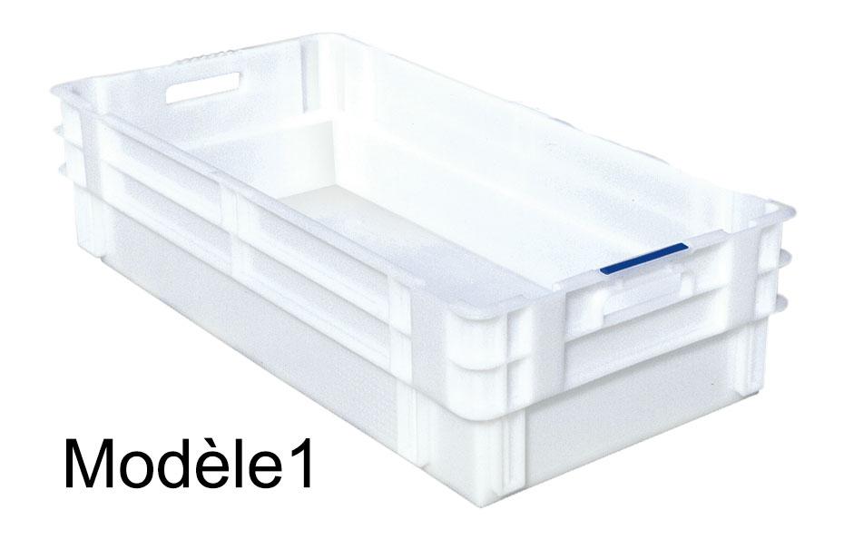 vente chaude en ligne 9993a d3391 Bac alimentaire emboîtable en plastique