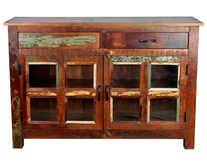 Buffet En Bois Tropical Recycle Meuble Buffet En Bois Tropical