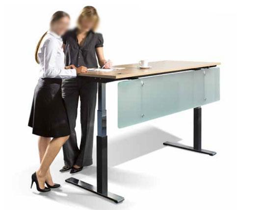 Bureau assis debout moteur lectrique Table assis debout