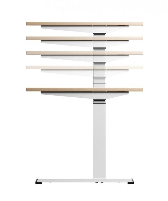 Bureau professionnel ergonomique à hauteur réglable