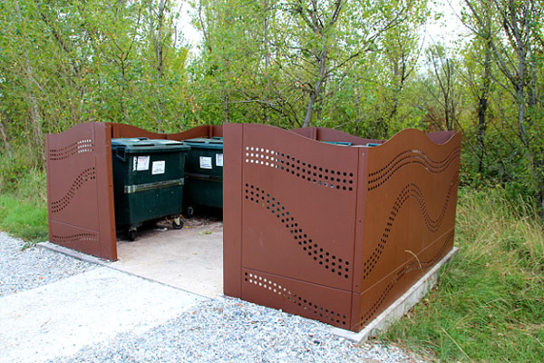 Code fiche produit 10745552 - Cache conteneur poubelle ...