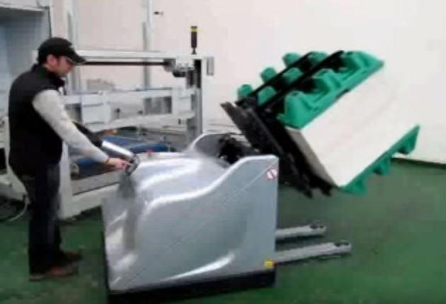 Manutention Chariot Piles Sur De Papier Retourneur Palette Pile IYgv7f6yb