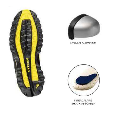 En Silk Hydrofuge De Nubuck Chaussures Sécurité Diadora wgxnv