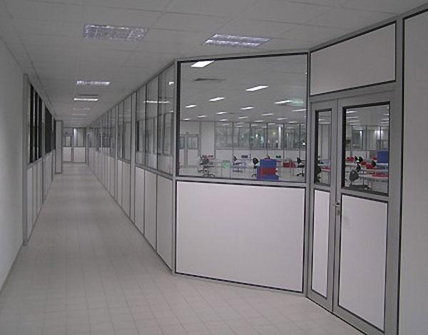 Cloison vitr e bureau acoustique cloison de bureau amovible cloisons isolation acoustique - Isolation phonique bureau ...