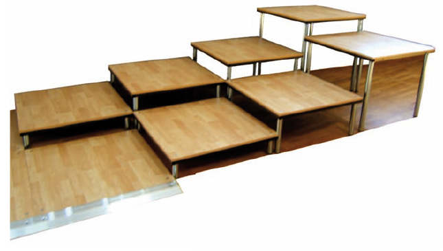 Prix sur demande for Estrade en bois pour lit