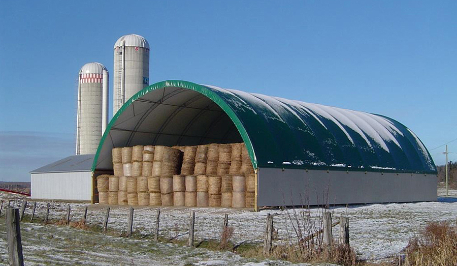 hangar tunnel metallique free hangar agricole en kit with