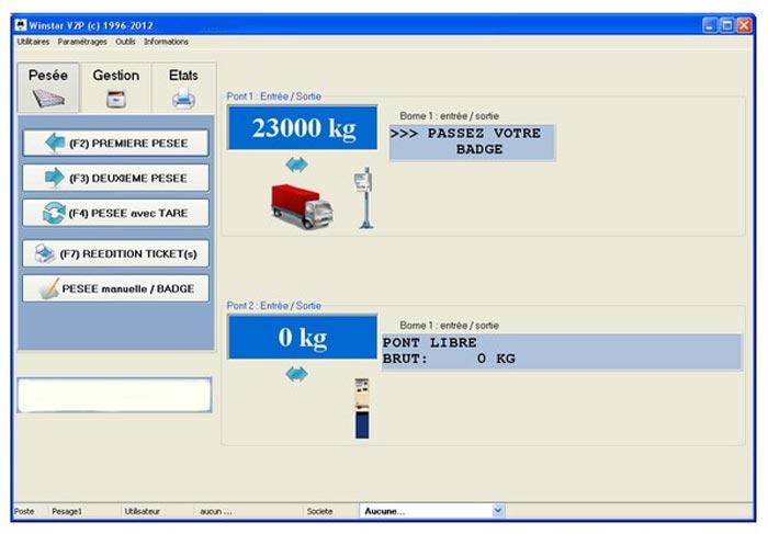 logiciel de pesage gratuit
