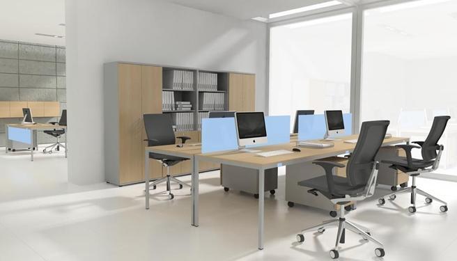 Meuble secrétaire contemporain - Aménagement de bureau moderne ...