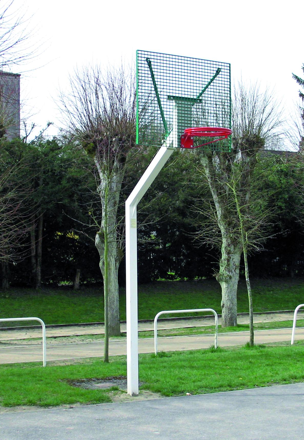 Ht for Panneau de basket exterieur
