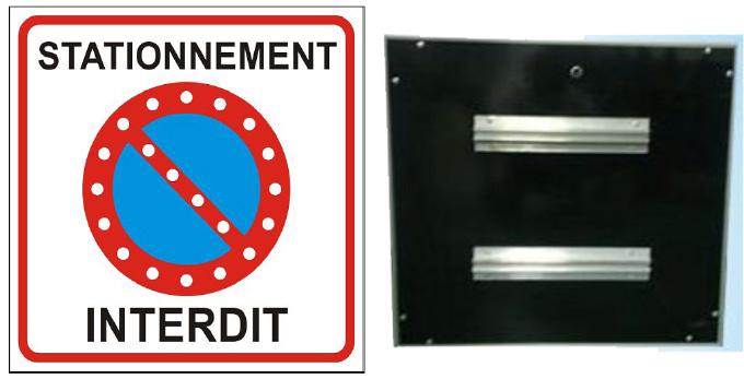 Prix sur demande - Panneau de stationnement interdit ...