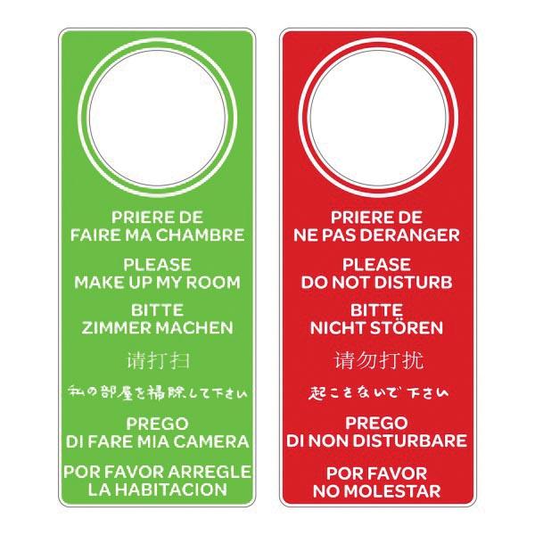 Affiche Ne Pas Déranger Pour Bureau plaque porte hôtel - affiche porte hotel - techni-contact