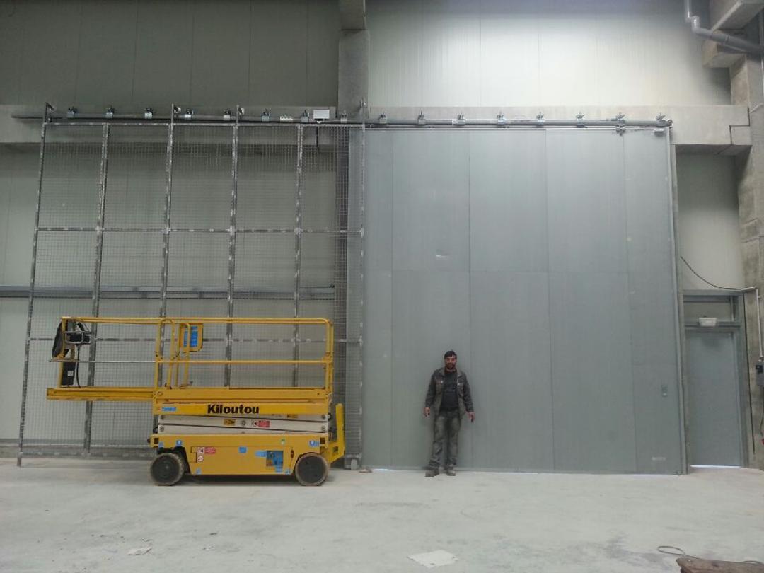Porte évacuation Industrielle Fermetures Tôlées Deux Faces