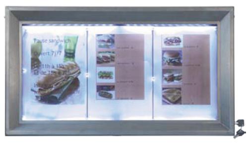 Code fiche produit 7524104 for Porte menu exterieur restaurant