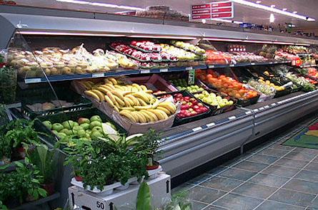 Prix sur demande - Presentoir fruits et legumes ...