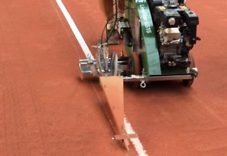 Renovation Terrain De Tennis