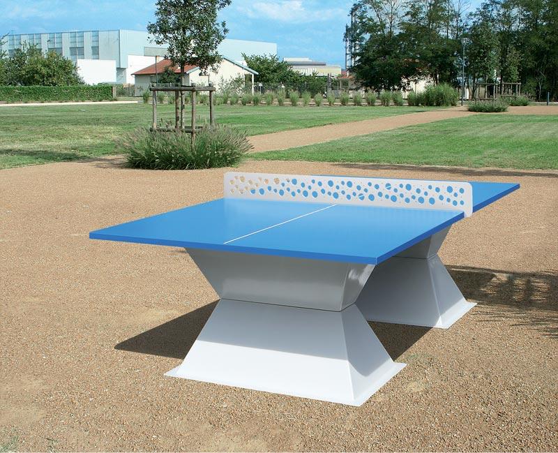 Code fiche produit 15406676 - Table de ping pong exterieur pour collectivite ...