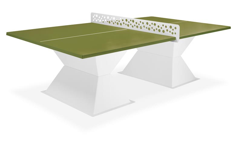 Ht for Table de ping pong exterieur pour collectivite