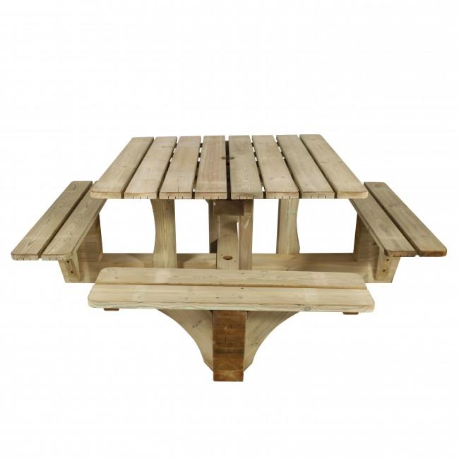 Ht - Plan pour table de pique nique en bois ...
